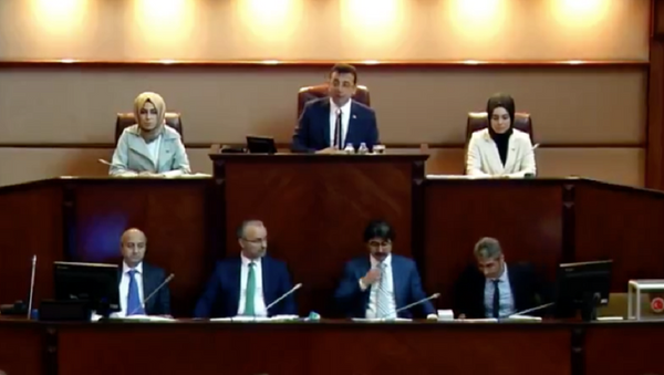 Ekrem İmamoğlu, İBB Meclis Toplantısı - Sputnik Türkiye