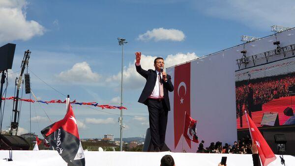 Yeni Bir Başlangıç Mitingi Ekrem İmamoğlu 5 - Sputnik Türkiye