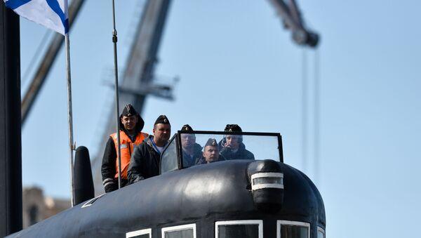 Russia Veliky Novgorod Submarine - Sputnik Türkiye