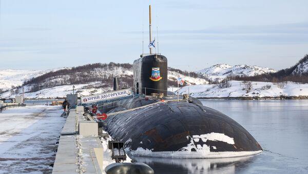 Подводная лодка Юрий Долгорукий - Sputnik Türkiye