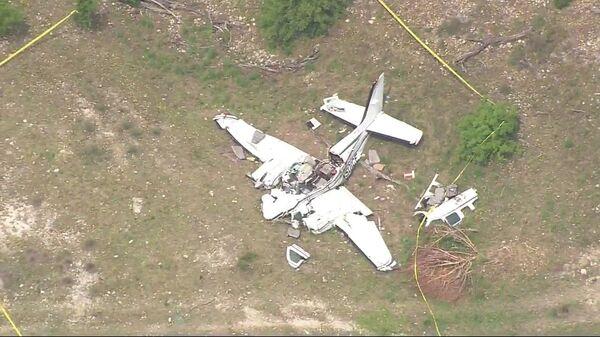 ABD'nin Teksas eyaletinde uçak kazası: 6 ölü - Sputnik Türkiye