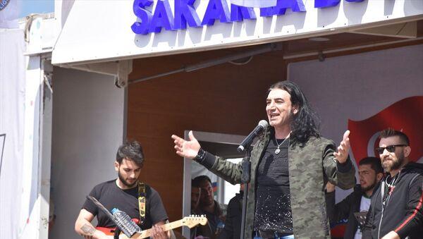 Murat Kekilli Suriye'de 23 Nisan konseri verdi: Bizi çok güzel ağırladılar - Sputnik Türkiye
