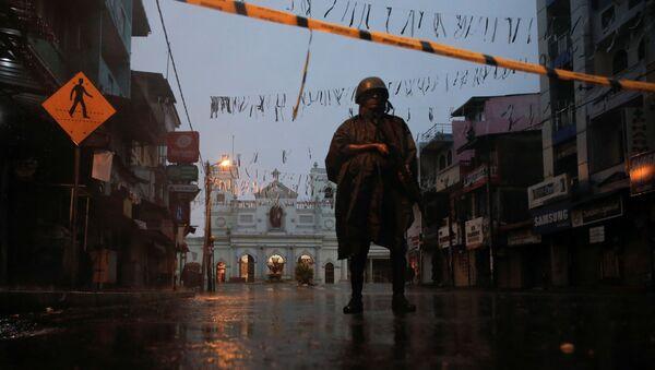 Sri Lanka'daki bombalı saldırıların hedefi olan St. Anthony's Kilisesi - Sputnik Türkiye