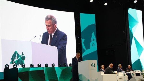 Rusya'ya bağlı Tataristan Cumhurbaşkanı: İslami ekonomi, küresel ekonominin ayrılmaz bir parçasıdır - Sputnik Türkiye