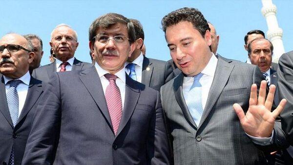 Ali Babacan - Ahmet Davutoğlu - Sputnik Türkiye