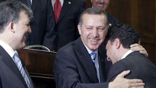 Recep Tayyip Erdoğan - Abdullah Gül - Ali Babacan - Sputnik Türkiye