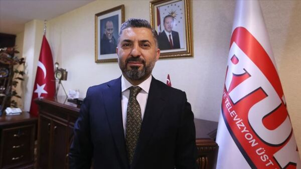 RTÜK Başkanı Ebubekir Şahin - Sputnik Türkiye