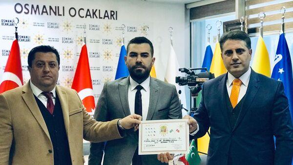 Kemalpaşa Osmanlı Ocakları Başkanı Gökhan Taş - Sputnik Türkiye