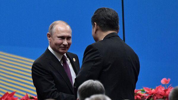 Vladimir Putin - Şi Cinping - Sputnik Türkiye