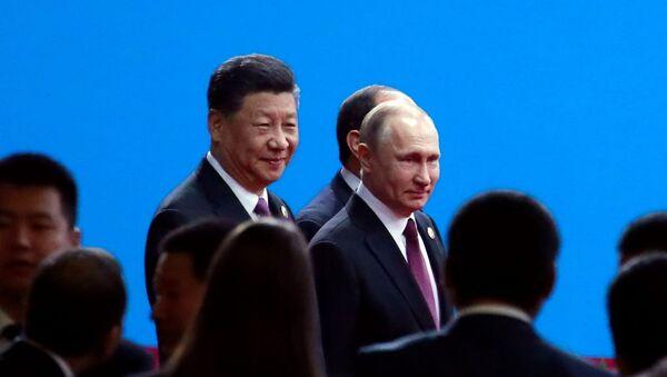Vladimir Putin-Şi Cinping - Sputnik Türkiye