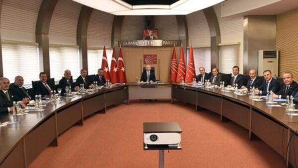 Kılıçdaroğlu, CHP'li büyükşehir belediye başkanları ile ilk kez bir araya geldi - Sputnik Türkiye