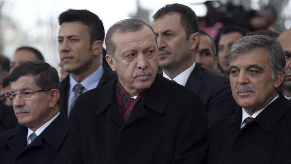 Ahmet Davutoğlu - Abdullah Gül - Recep Tayyip Erdoğan - Sputnik Türkiye