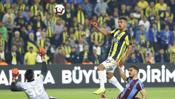 Spor Toto Süper Lig'in 30. haftasında Fenerbahçe ile Trabzonspor takımları, Ülker Stadyumu'nda karşılaştı. - Sputnik Türkiye