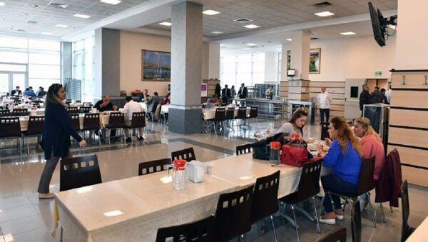 Ankara Büyükşehir Belediyesi yemekhanesi - Sputnik Türkiye