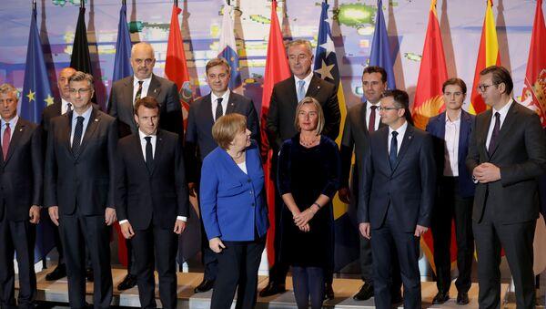 Batı Balkan Ülkeleri Toplantısı, Berlin'de yapıldı - Sputnik Türkiye