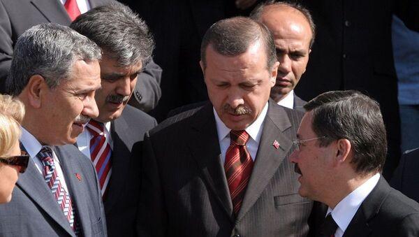 Bülent Arınç - Abdullah Gül - Recep Tayyip Erdoğan - Melih Gökçek - Sputnik Türkiye