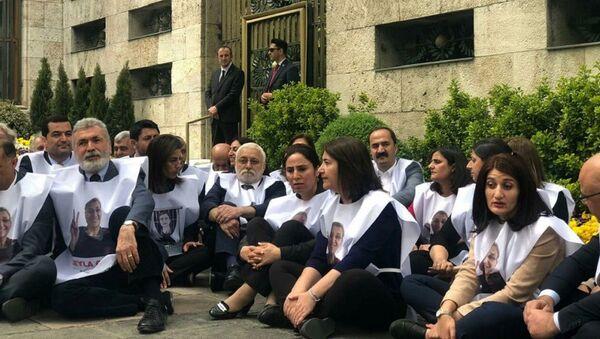 HDP, TBMM, açlık grevi, oturma eylemi - Sputnik Türkiye
