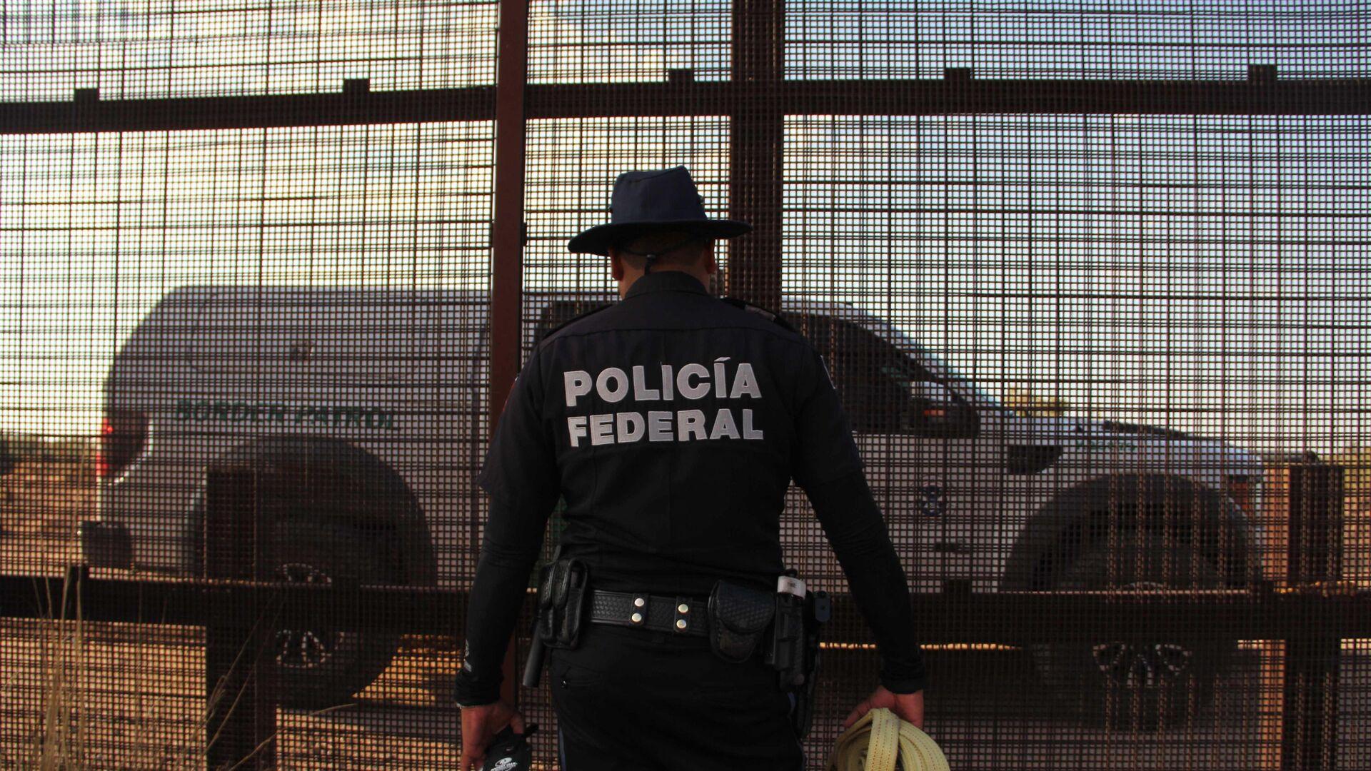 Meksika sınır polisi - Sputnik Türkiye, 1920, 29.08.2021