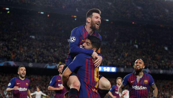 Barcelona finalin kapısını araladı - Sputnik Türkiye
