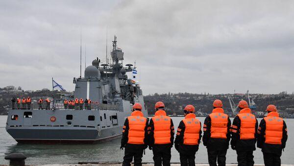 Russia Admiral Essen Warship - Sputnik Türkiye