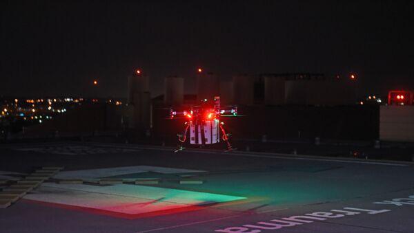 ABD'de Maryland Medikal Merkezi'ndeki bir hastaya, bağışçıdan alınan ve drone ile taşınan böbrek nakledildi. - Sputnik Türkiye
