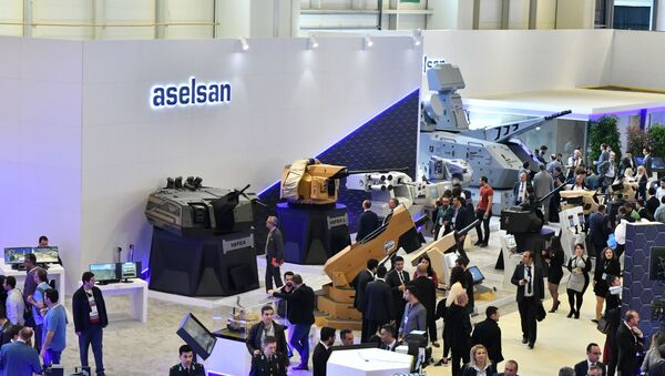 IDEF 2019 Aselsan Nefer - Sputnik Türkiye