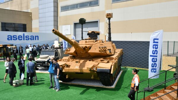 IDEF 2019 Aselsan M60 Tank Modernizasyonu - Sputnik Türkiye