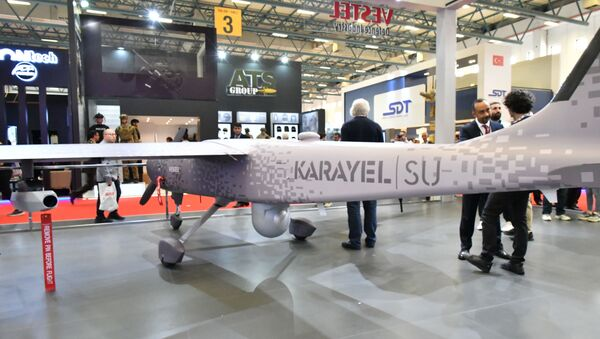 IDEF 2019 Vestel Karayel Su İHA - Sputnik Türkiye