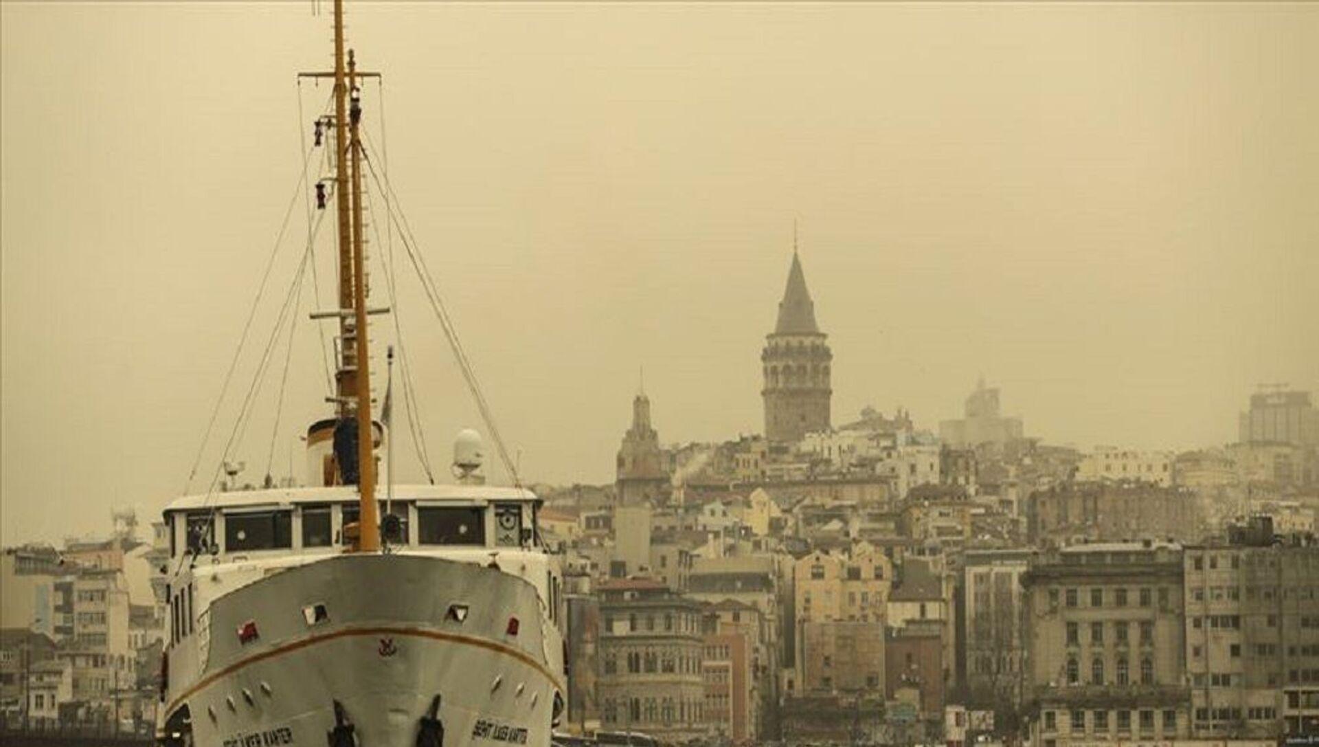 İstanbul - toz taşınımı  - Sputnik Türkiye, 1920, 27.02.2021