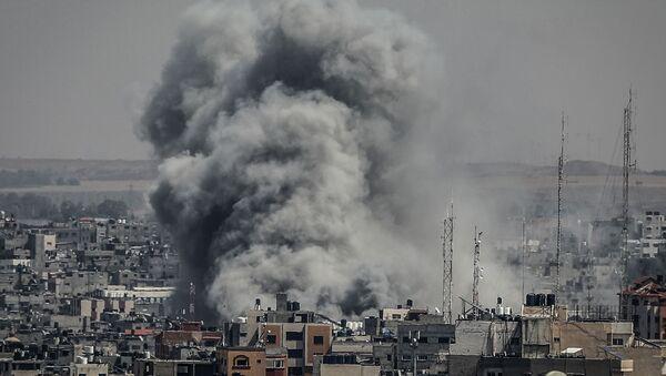 İsrail'in Gazze'ye yönelik saldırıları - Sputnik Türkiye