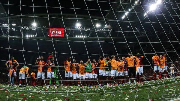 TT Arena'da dev derbinin galibi Galatasaray - Sputnik Türkiye