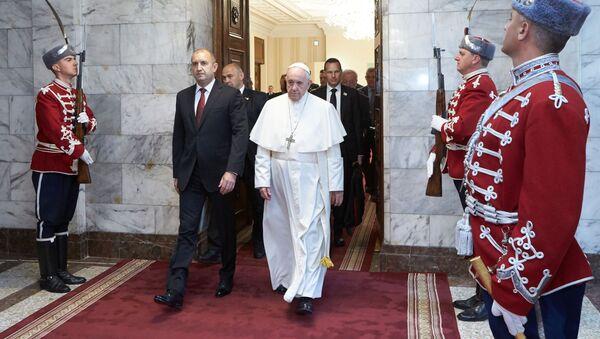 Papa FranciscusBulgaristan'da - Sputnik Türkiye