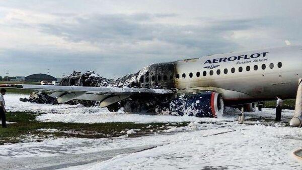 Rusya'da uçak kazası - Sputnik Türkiye
