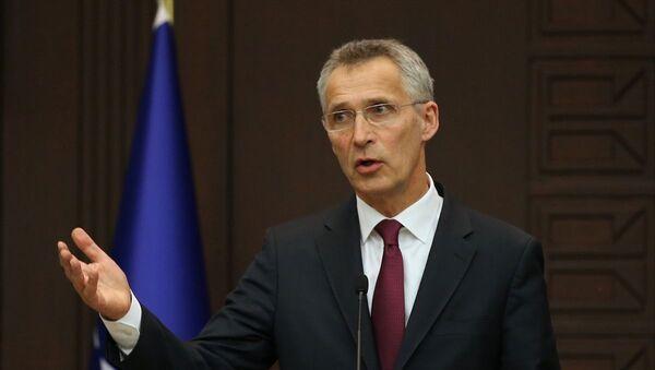NATO Genel Sekreteri Stoltenberg Ankara'da: Türkiye'nin S-400 almasının  olası sonuçlarından endişe duyuyorum - Sputnik Türkiye