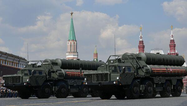 Moskova'da Zafer Günü askeri geçit töreni genel provası - Sputnik Türkiye