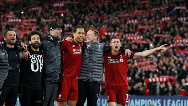 Liverpool, 3-0'ın rövanşında Barcelona'yı devirip finale yükseldi - Sputnik Türkiye