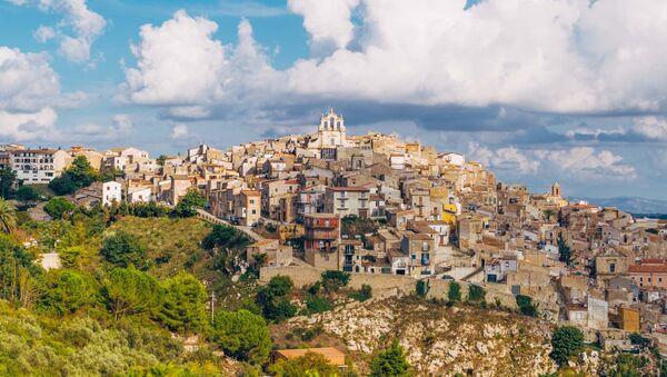 İtalya - Sicilya - Mussomeli  - Sputnik Türkiye