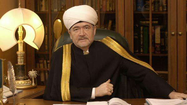 Rusya Müftüler Konseyi Başkanı Ravil Gaynuddin - Sputnik Türkiye