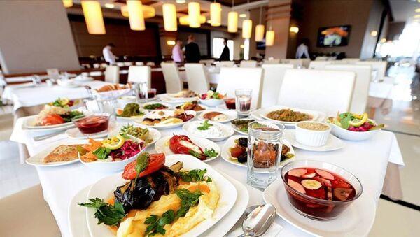 5 yıldızlı iftar sofraları - iftar - yemek - Sputnik Türkiye