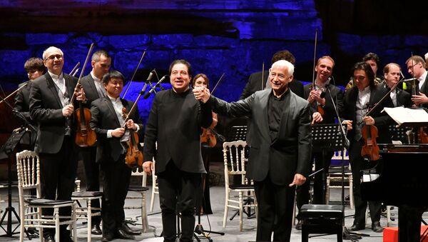 Türk - Rus Klasik Müzik Festivali Fazıl Say ve Vladimir Spivakov - Sputnik Türkiye