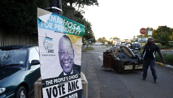 Güney Afrika'da seçimin galibi Afrika Ulusal Kongresi oldu - Sputnik Türkiye