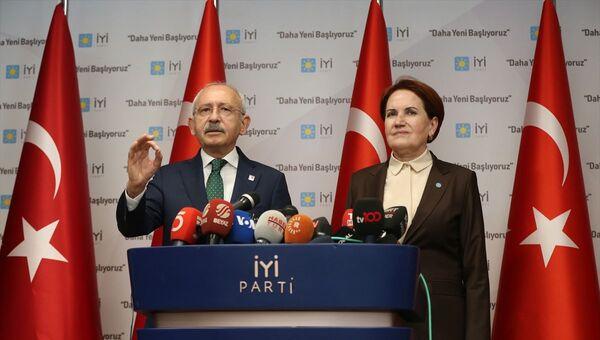 Kemal Kılıçdaroğlu - Meral Akşener - Sputnik Türkiye