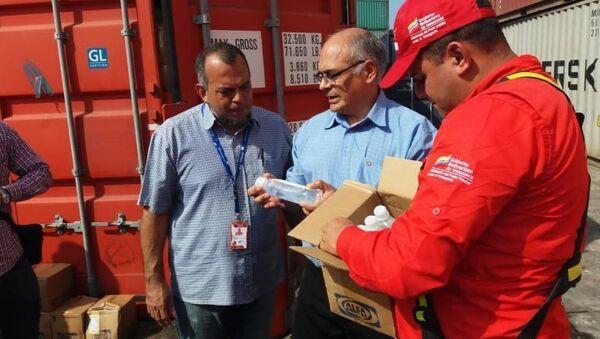 Çin'den Venezüella'ya 77 tonluk tıbbi yardım - Sputnik Türkiye