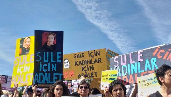 Şule Çet, dava, duruşma, destek - Sputnik Türkiye