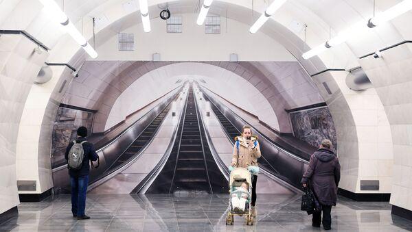 Moskova metrosu 84. yaşında - Sputnik Türkiye