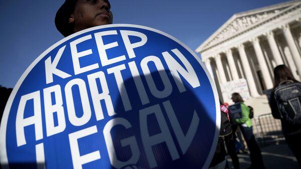 ABD kürtaj yasaklarına karşı protesto - Sputnik Türkiye