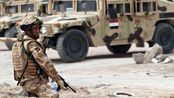 Irak'ta İngiliz askeri - Sputnik Türkiye