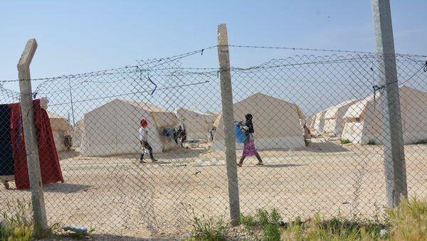 Şanlıurfa İl Göç İdaresi'ne bağlı Suruç Çadırkent Mülteci Kampı  - Sputnik Türkiye
