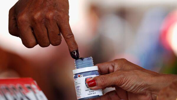 Endonezya'da başkanlık seçimi sonuçlarına itiraz edildi - Sputnik Türkiye