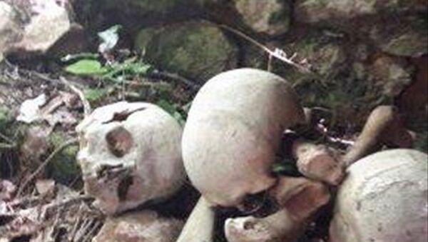 Küre Dağları Milli Parkı, kaçak kazı, insan kemikleri - Sputnik Türkiye